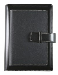 DOUBLE NOTES Daily Diary - cm 15x21 / 17x24 - black/black