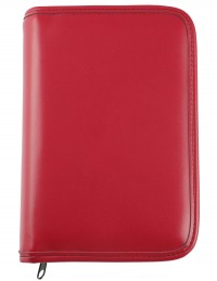 PICASSO weekly organizer with zip fastening - cm 13x19 - red