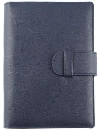 Agenda in vera pelle Easy Leather Giornaliera 15x21  Blu
