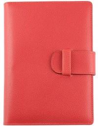 EASY Genuine Leather daily diary - cm 15x21/17x24 - orange