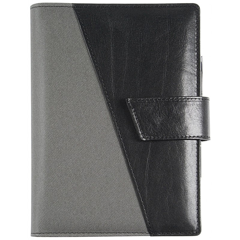 Agenda in vera pelle*leathertex B-Side giornaliera 15x21