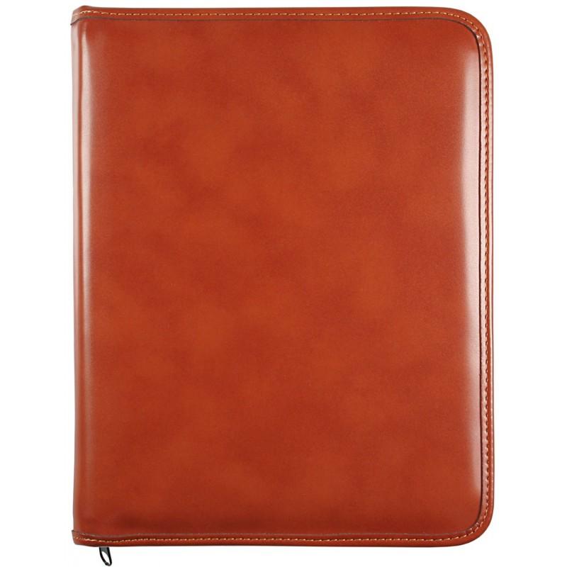 """Custodia Tablet universale 10"""" Picasso con chiusura a zip Cuoio"""
