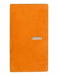 SUEDE pocket weekly planner – cm 8x15 - orange