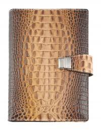 """Cocco"" Genuine leather diary 15x21-17x24 daily"