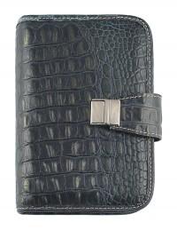 CROCO Genuine leather weekly Organizer