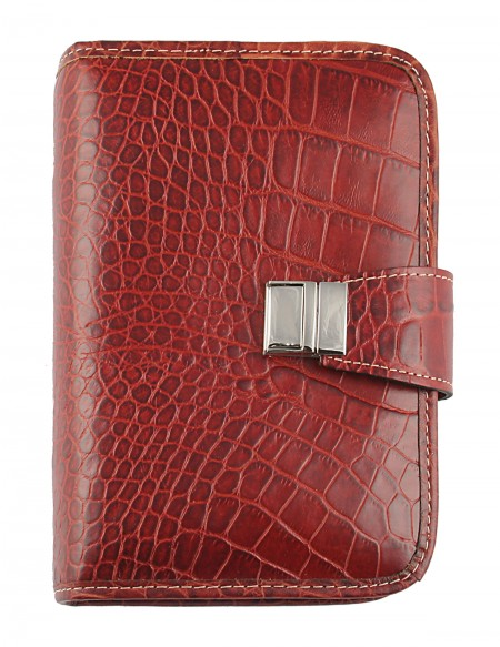 Croco Genuine Leather Organizer 13x19