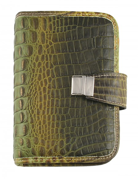 CROCO Genuine leather weekly Organizer