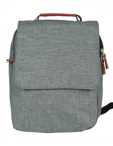 "Zaino Pierre Delone executive PC ""Lugano"" color grigio"