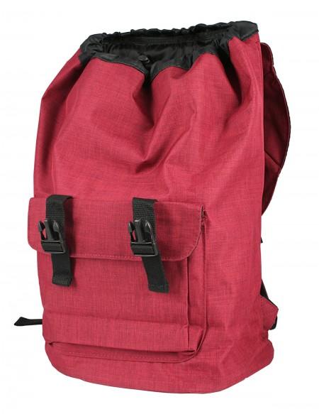 Zaino doppia protezione porta Computer  color rosso