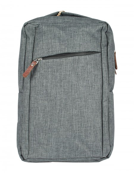 "Zaino Pierre Delone porta PC ""Lugano"" color grigio"
