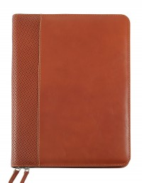 Genuine leather Document Folder (light brown)