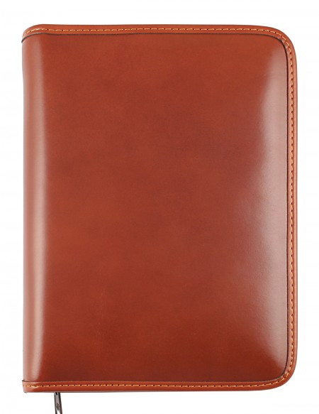 ELEGANT Genuine leather diary - cm 15x21/17x24 - daily or weekly - buff