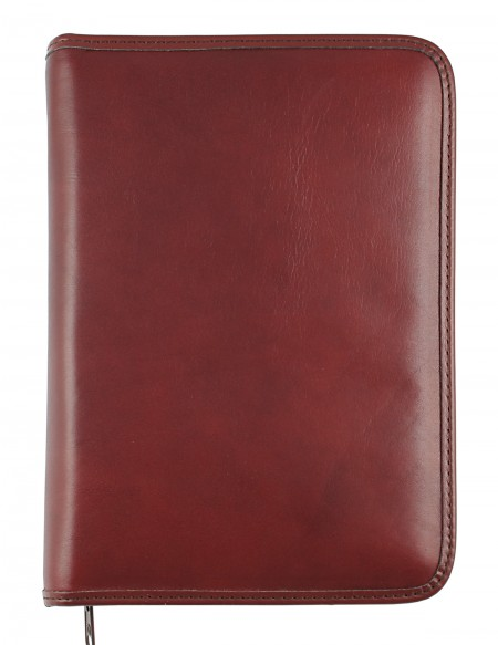 ELEGANT Genuine leather diary - cm 15x21/17x24 - daily or weekly - dark brown