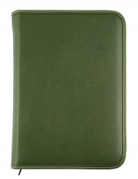 """Venezia"" diary with zip fastening 15x21 daily-17x24 daily or weekly"