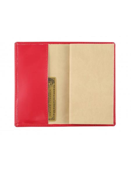 Agendina tascabile in similpelle Picasso 8x15 settimanale Rosso
