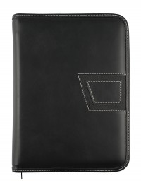 """Faux leather Diary """"Azteca"""" 15x21 daily-17x24 daily or weekly"""