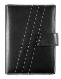 FRONT LINE Diary - cm 15x21 / 17x24 - daily or weekly - black