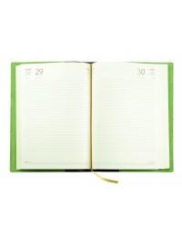 Agenda Suede in Pelle Scamosciata Giornaliera 15x21 Giornaliera-Settimanale 17x24