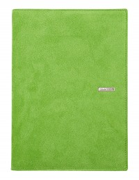 SUEDE leather diary - cm 15x21/17x24 - daily or weekly