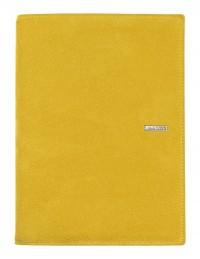 Agenda Suede in Pelle Scamosciata giallo Giornaliera 15x21, Giornaliera-Settimanale 17x24