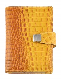 CROCO Genuine leather diary - daily or weekly sections