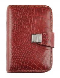 Croco Genuine Leather Organizer 13x19