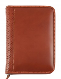 ELEGANT Genuine leather diary - cm 15x21/17x24 - daily or weekly - light brown