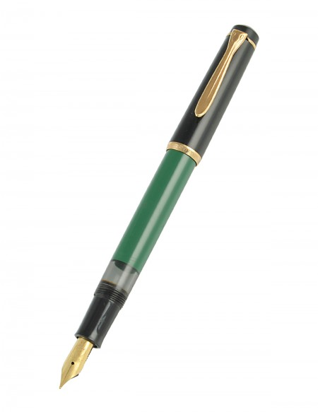 "Penna stilografica ""Waterman"" con astuccio color verde/nero"