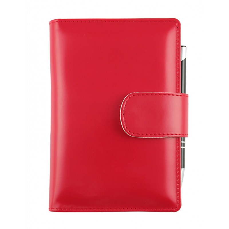 """Agenda """"Basic"""" Giornaliera 12x17 Rosso"""