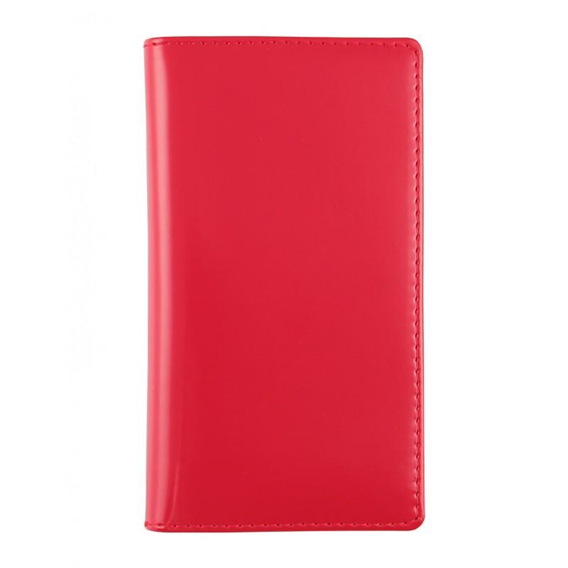 "Agendina tascabile in similpelle ""Basic"" 8x15 settimanale Rosso"