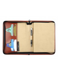 """Premiere"" diary with zip fastening 15x21 daily-17x24 daily or weekly"