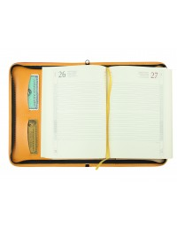 "Agenda ecopelle ""Cell"" borsello 15x21 con penna"