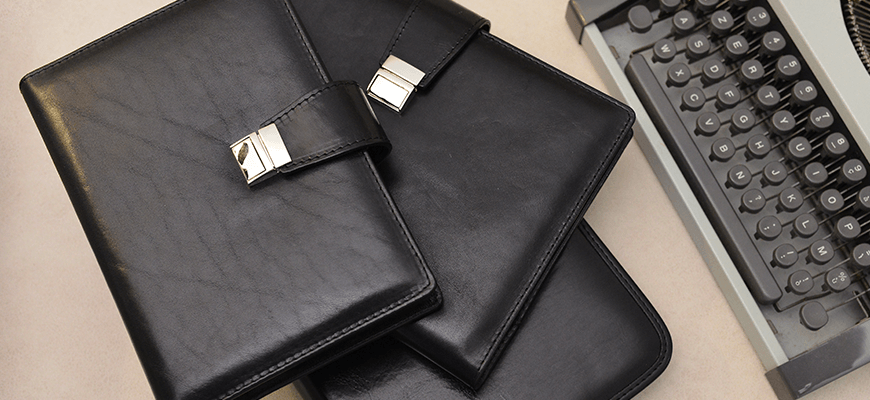 genuine leather diaries