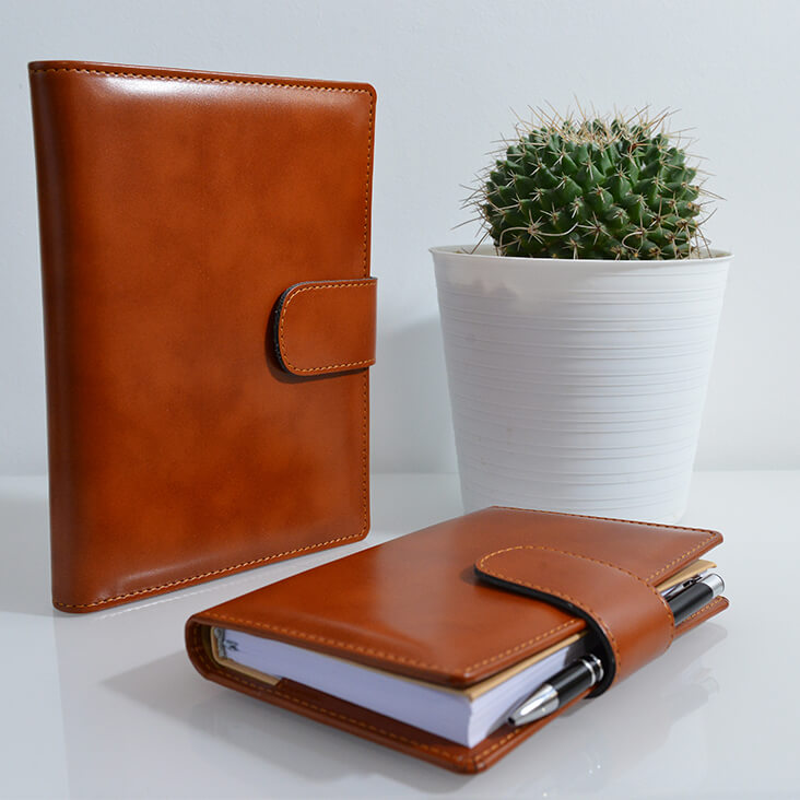 Faux Leather diaries